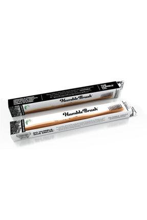 Humble Brush Bambu Kömür Infüzyonlu Diş Fırçası - Gri