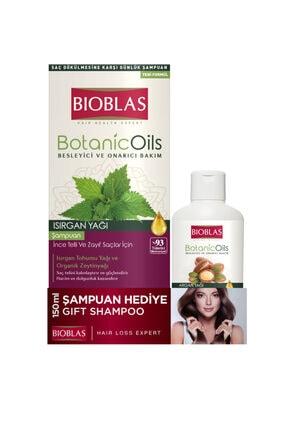 Bioblas Botanic Oils Isırgan Şampuanı + 150ml Şampuan
