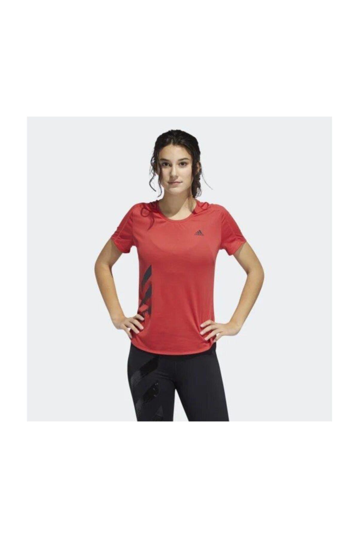 adidas RUN IT TEE 3S W Kadın Tişört 1