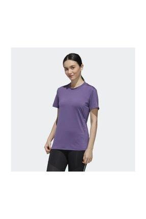 adidas W D2M BRANDED T -M Mor Kadın T-Shirt 100547717