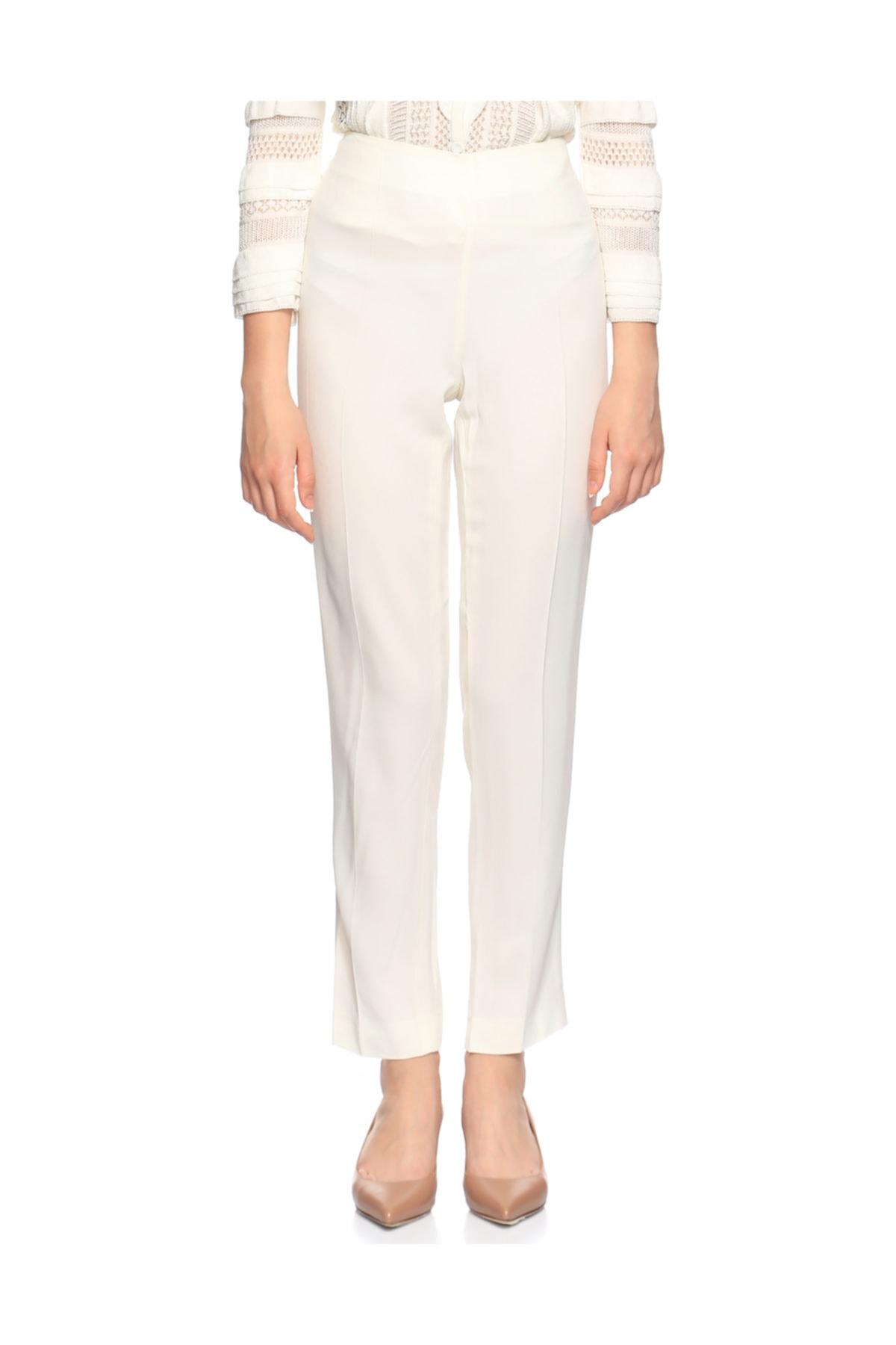 PHILOSOPHY FERRETTI Kadın Beyaz Pantolon 1