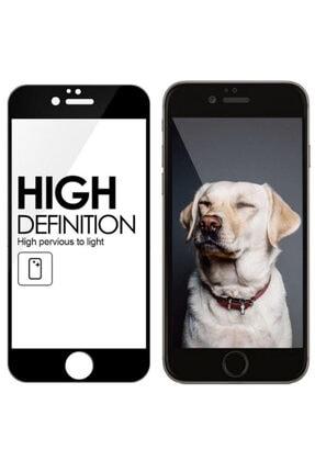Apple Iphone 6 Plus / 6s Plus Geniş Kavisli 5d 6d Kırılmaz Cam ( Siyah )