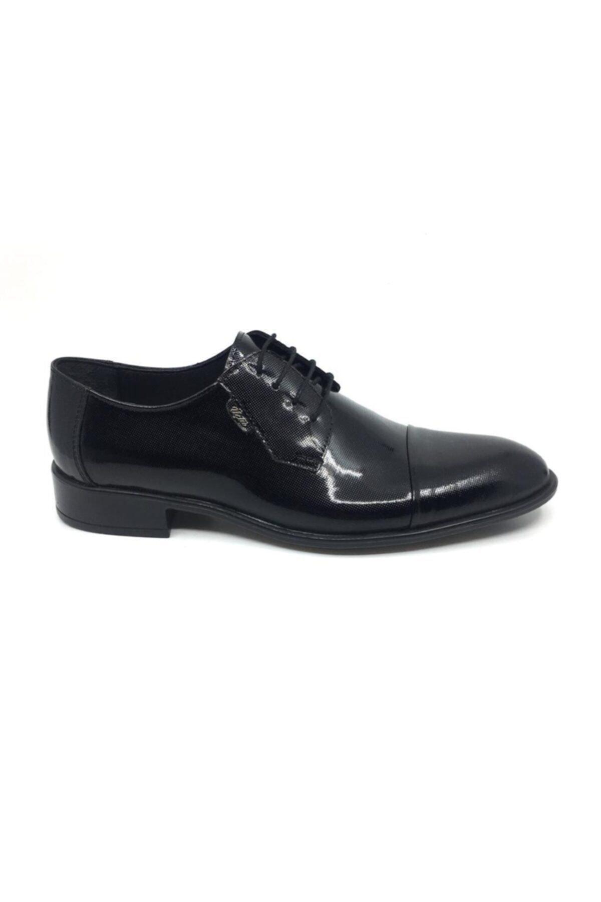 Taşpınar Erkek Siyah Üçlü Deri Klasik Yazlık Ayakkabı 2