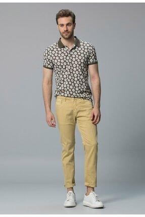 Lufian Erkek Yeşil Smart Polo T-Shirt 111040010100600