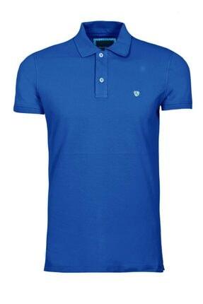Lufian Erkek Lacivert Basic Polo Yaka T- Shirt