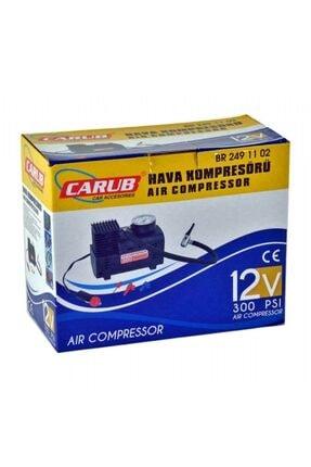 Carub Siyah Hava Kompresörü 12v 300psi