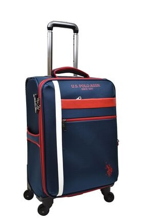 U.S POLO U.s. Polo Assn. Valiz Kabin Boy Lacivert Kumaş Valiz