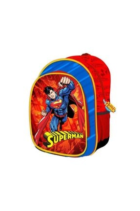 Trendix Justice League Superman Iki Gözlü Anaokulu Çantası