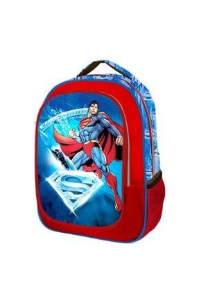 Trendix Superman Frosted Ilkokul Çantası Tek Gözlü