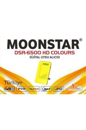 Moonstar Dsr-6500 Hd Colours Sarı Uydu Alıcısı
