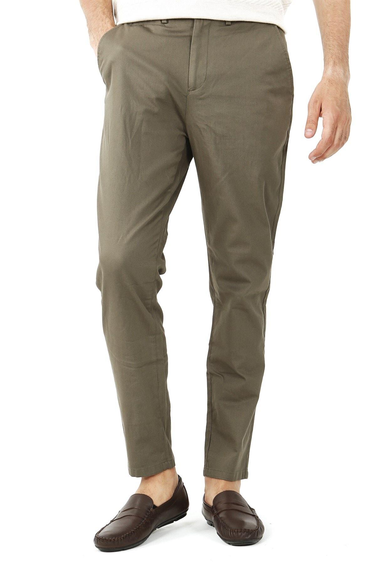 Jakamen Slim Fit Serili Pantolon Spor Yan Cep Serili 1