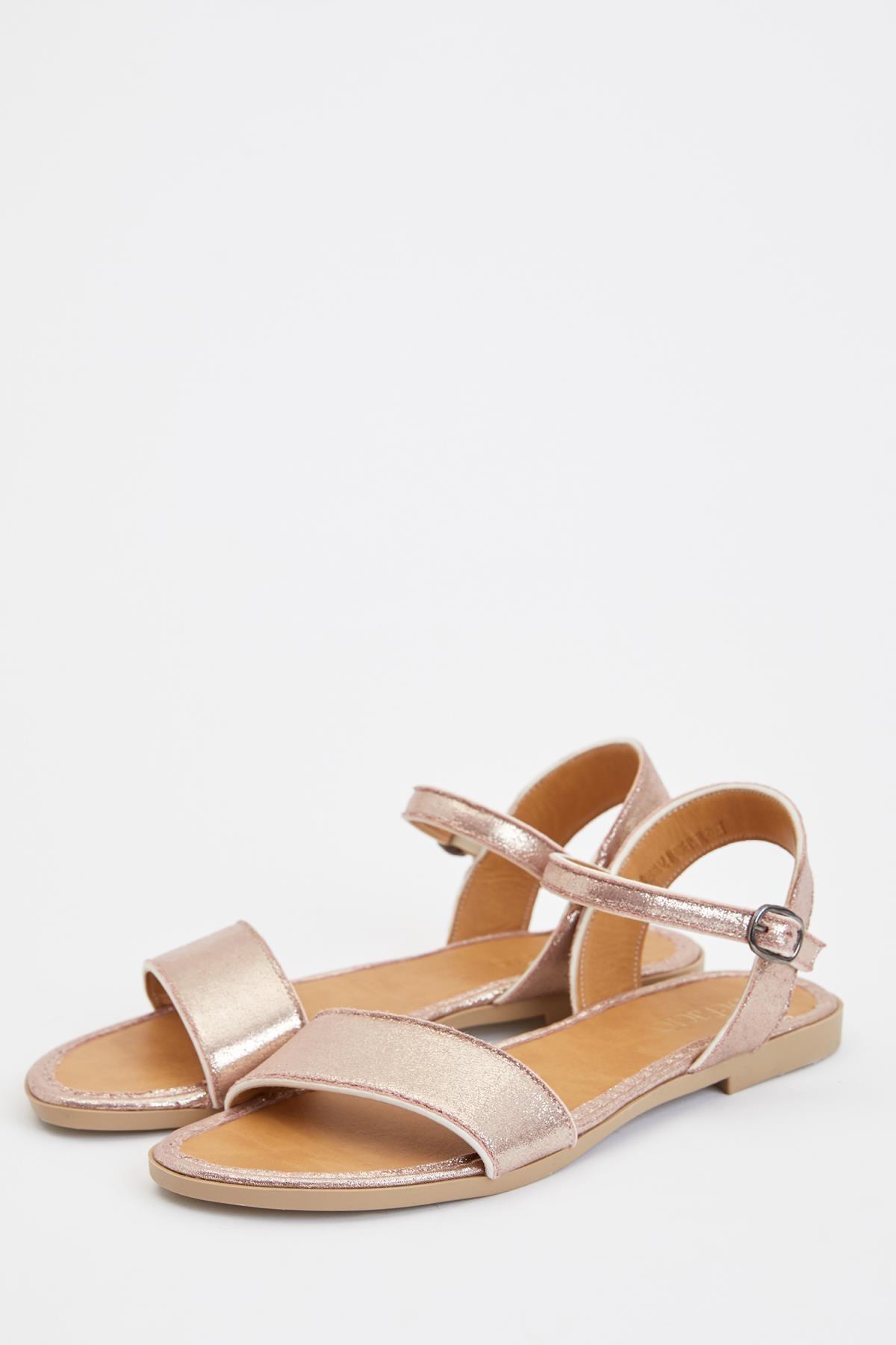 DeFacto Kadın Bordo Fashion Sandalet S5928AZ20SM