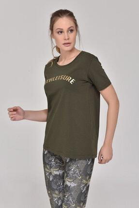 bilcee Haki Kadın T-Shirt GS-8618
