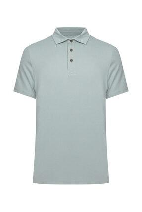 W Collection Erkek Yeşil Polo Yaka T-Shirt