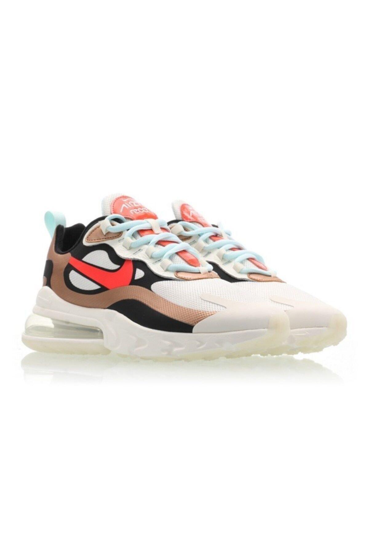 Nike Air Max 270 React Kadın Spor Ayakkabı Ct3428-100 2