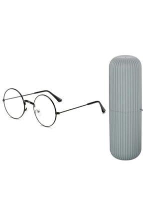 Transformacion Numaralı Gözlük Için Yuvarlak Çerçeve Gözlük Kutusu Seti