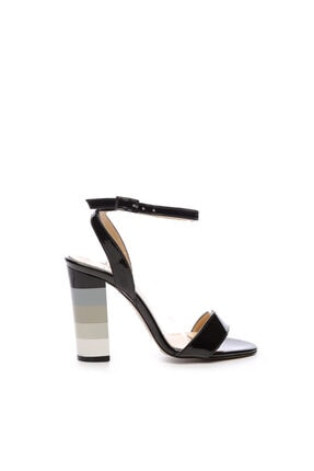 KEMAL TANCA Kadın Siyah Derı Topuklu Ayakkabı 22 995