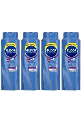 Elidor Kepeğe Karşı Etkili 2si 1 Arada Saç Bakım Şampuanı 650 ml 4 Adet