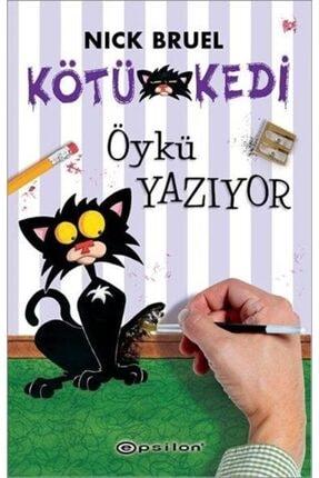 Epsilon Yayınları Kötü Kedi Öykü Yazıyor