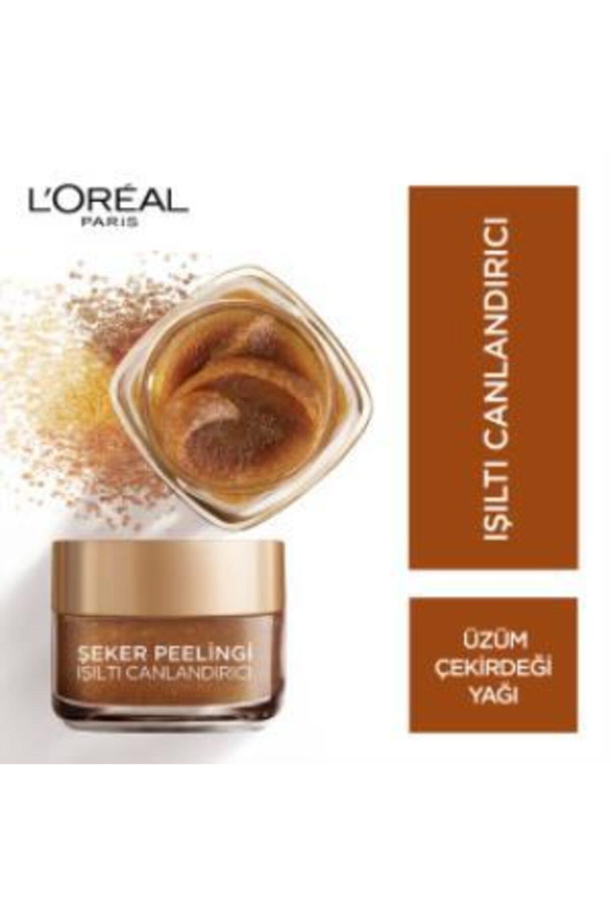 L'Oreal Paris L'oréal Paris Şeker Peelingi Işıltı Canlandırıcı 2
