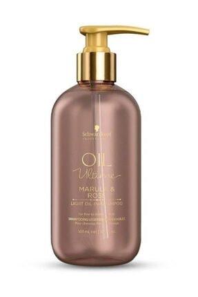 SCHWARZKOPF HAIR MASCARA Schwarzkopf Oil Ultime Marula & Rose Light Oil Şampuan 300 Ml