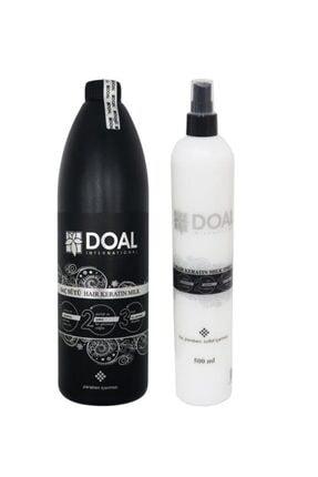 DOAL Keratin Sütü 1000 Ml+ Keratin Milk Saç Spreyi 500 Ml