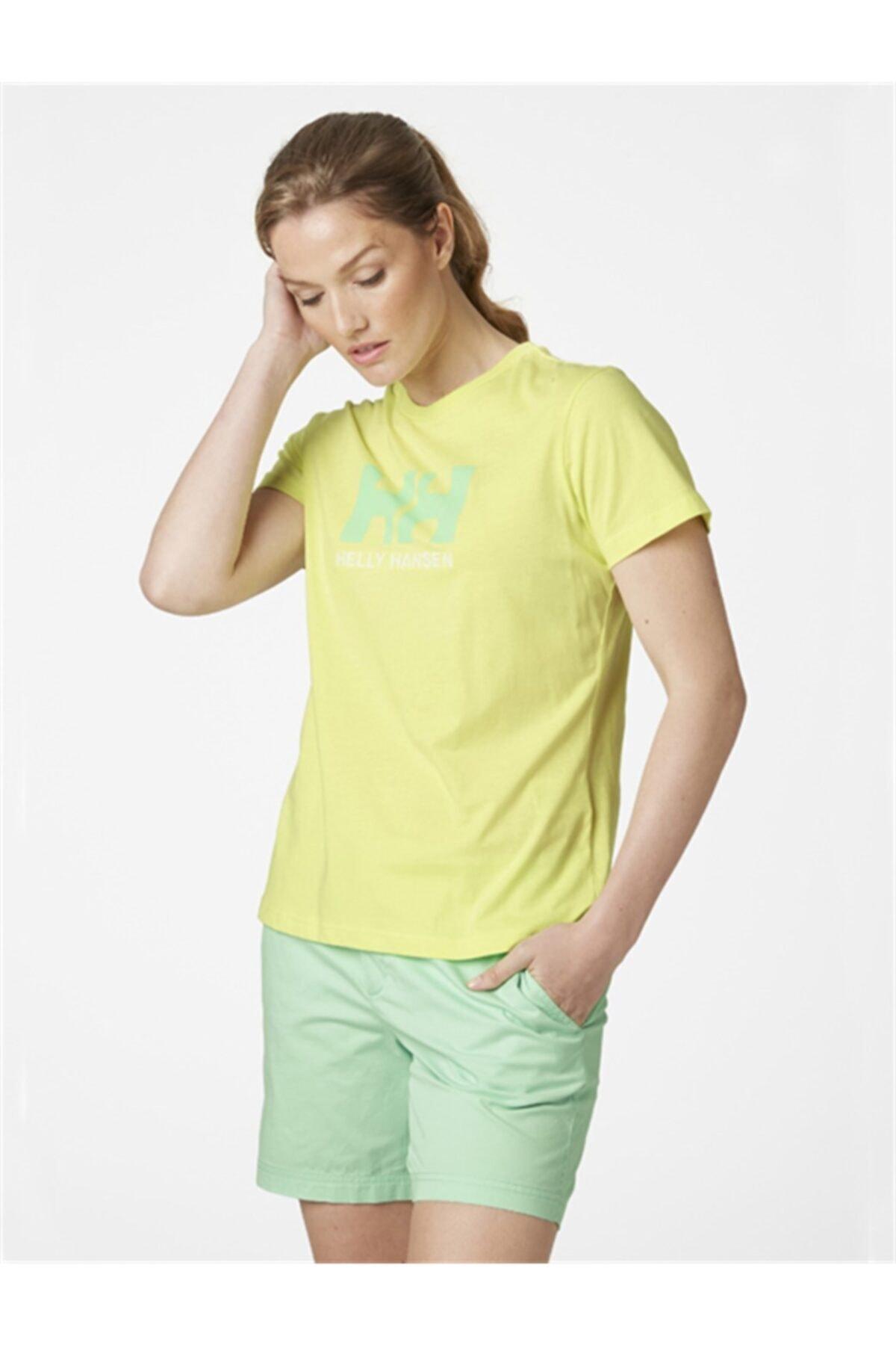 Helly Hansen Kadın Yeşil T-Shirt 2