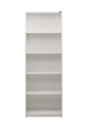 Adore Mobilya Max 5 Raflı Kitaplık - Beyaz