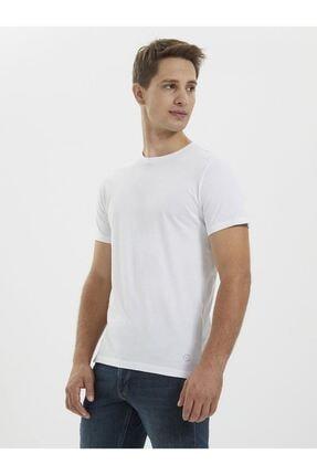 Loft Erkek Beyaz T-shirt Lf2021495