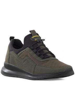 DUNLOP Erkek Haki Fileli Günlük Spor Ayakkabı