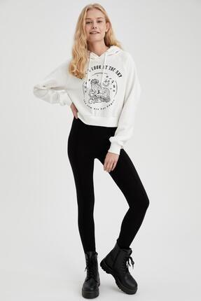 DeFacto Pantolon Görünümlü Skinny Fit Tayt