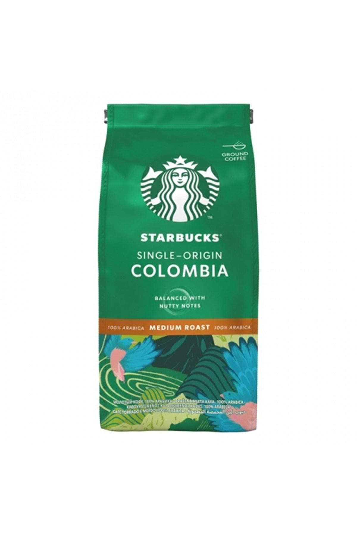 Starbucks Colombia Öğütülmüş Kahve 200gr
