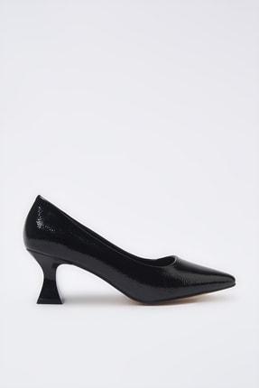 Hotiç Siyah Kadın Klasik Topuklu Ayakkabı 01AYH205380A100
