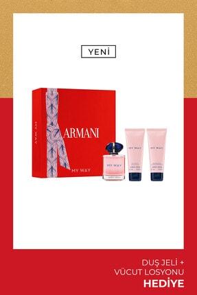 Giorgio Armani My Way Edp Kadın Parfüm Seti 90 Ml 3614273375788