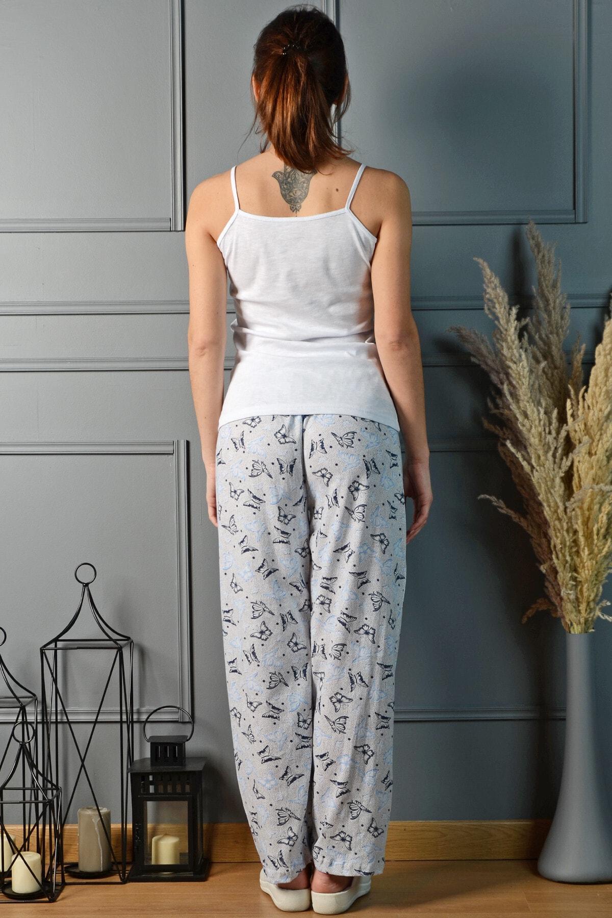 PİNKMARK Kadın Renkli Pijama Altı Pmplt24195 2