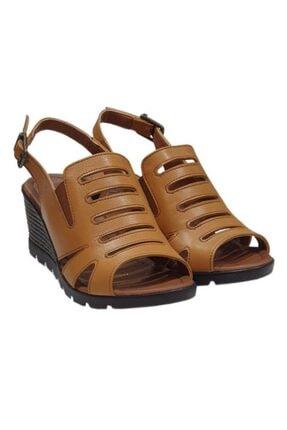 Pierre Cardin 6326 Topuklu Deri Bayan Sandalet Ayakkabı