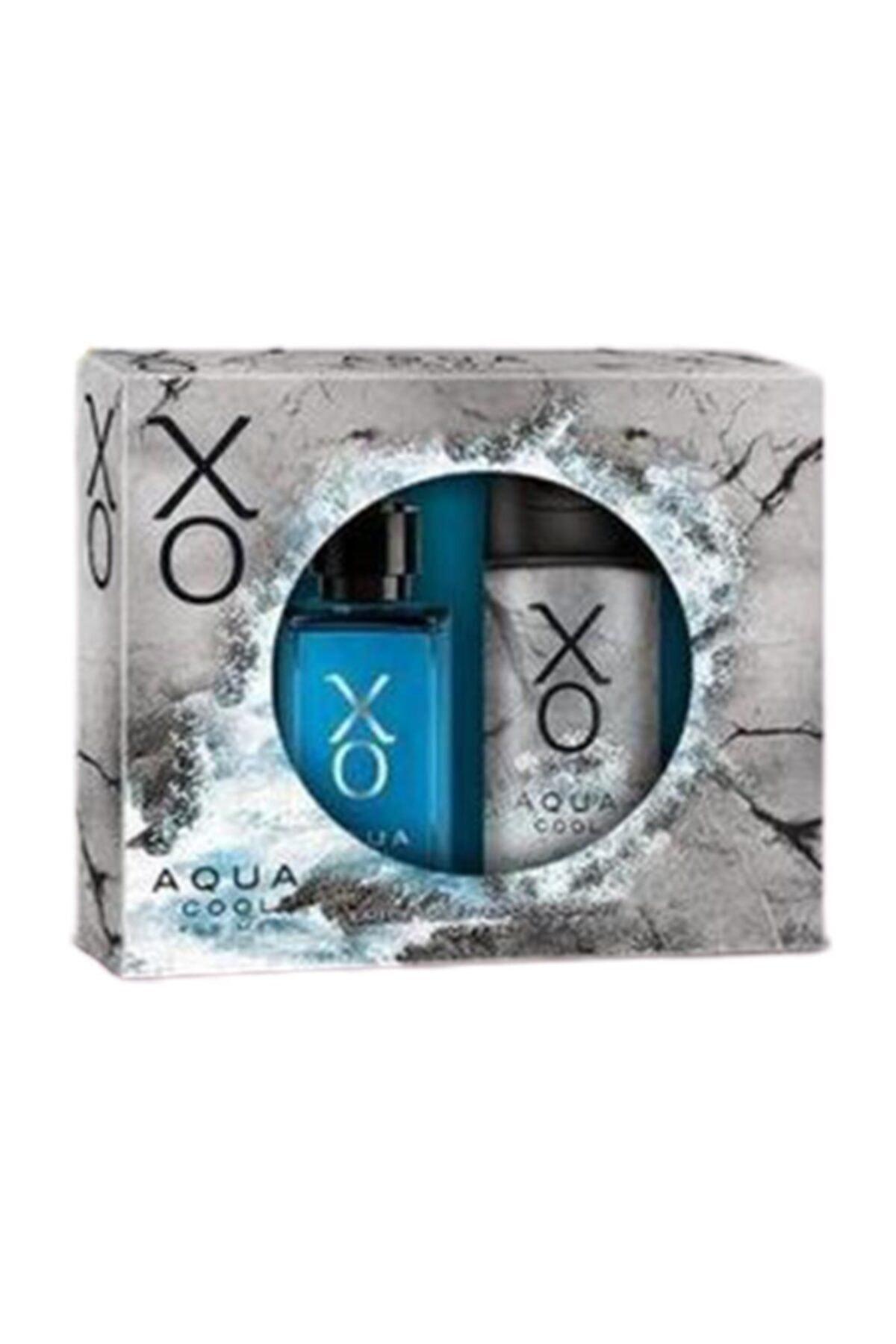 Alix Avien Parfüm Seti - Aqua Cool Erkek Parfüm 100 ml & 125 ml Erkek Deodorant 0869060566268 1