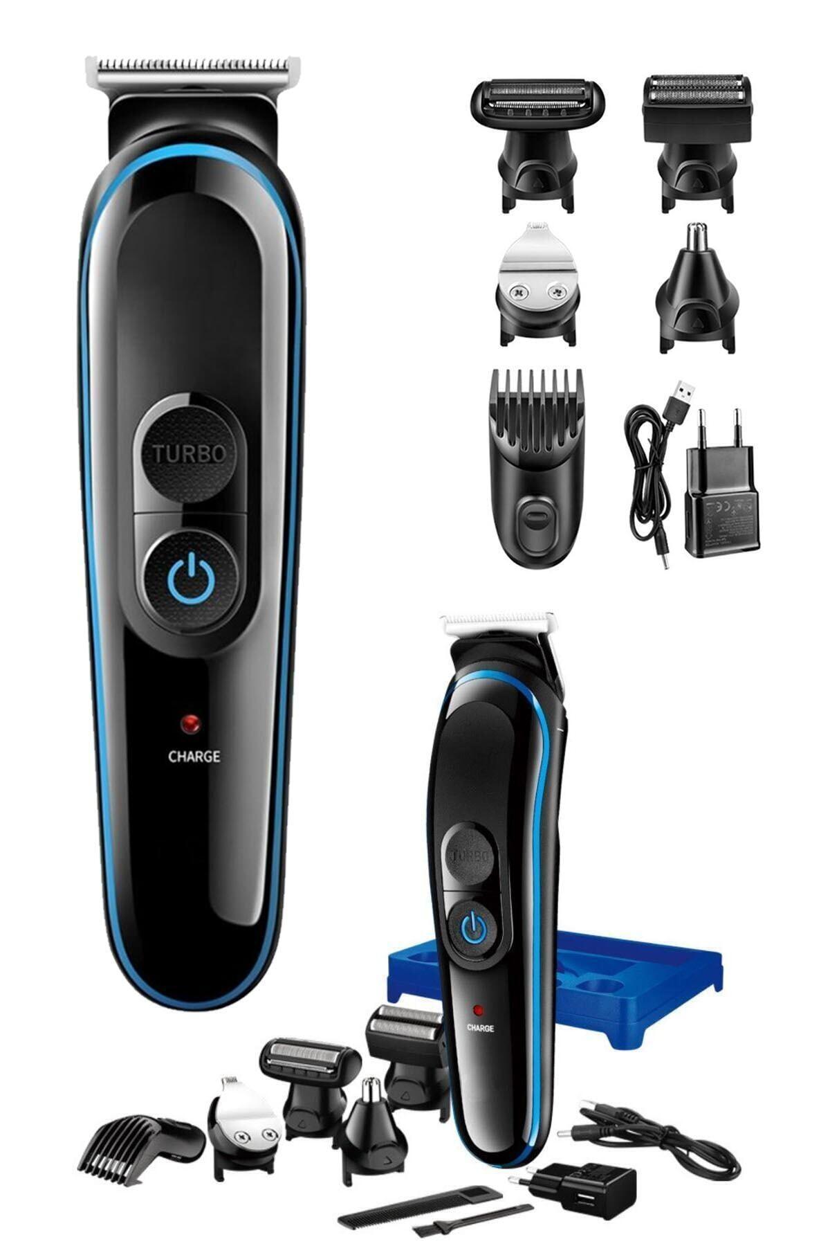 yopigo Yp-675 One Galaxy Saç Sakal Şekillendirici Tıraş Makinesi Erkek Bakım Seti Vucüt Tıraş 9in1 Ultimate 1