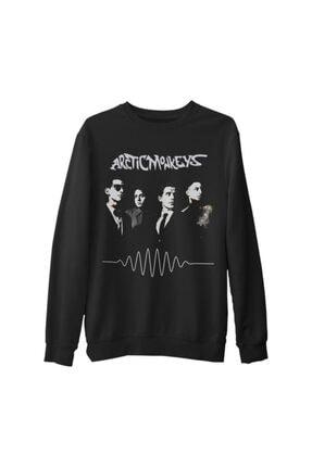 Lord T-Shirt Unisex Siyah Arctic Monkeys - Band Kalın Sweatshirt
