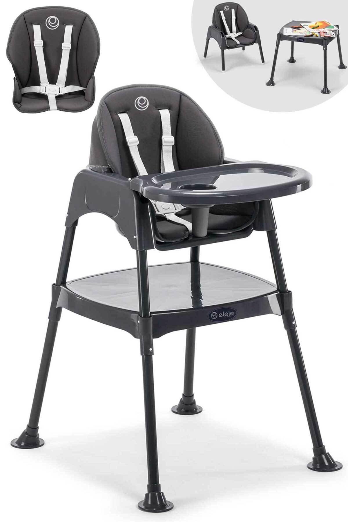 Elele 3in1 Çalışma Masalı Mama Sandalyesi 1