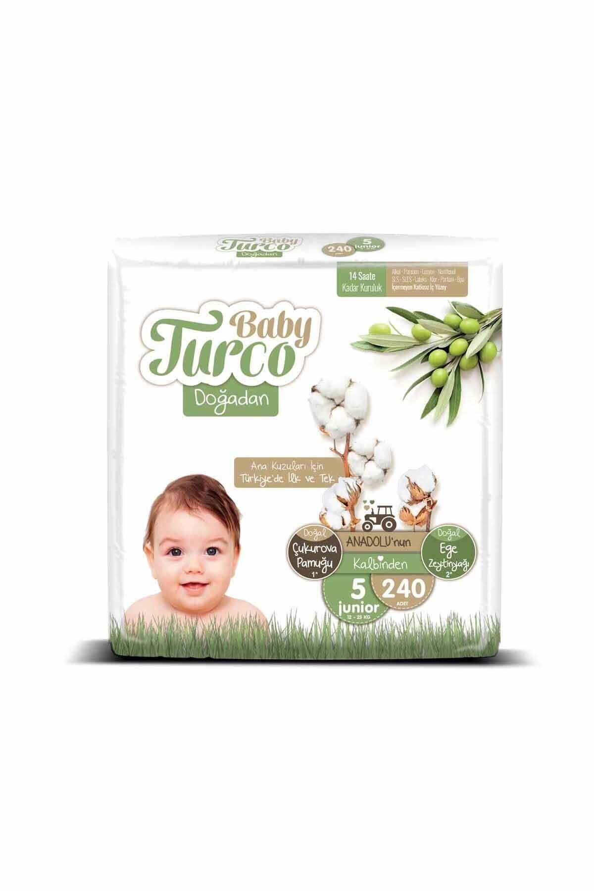 Baby Turco Doğadan 5 Numara Junıor 240 Adet 2