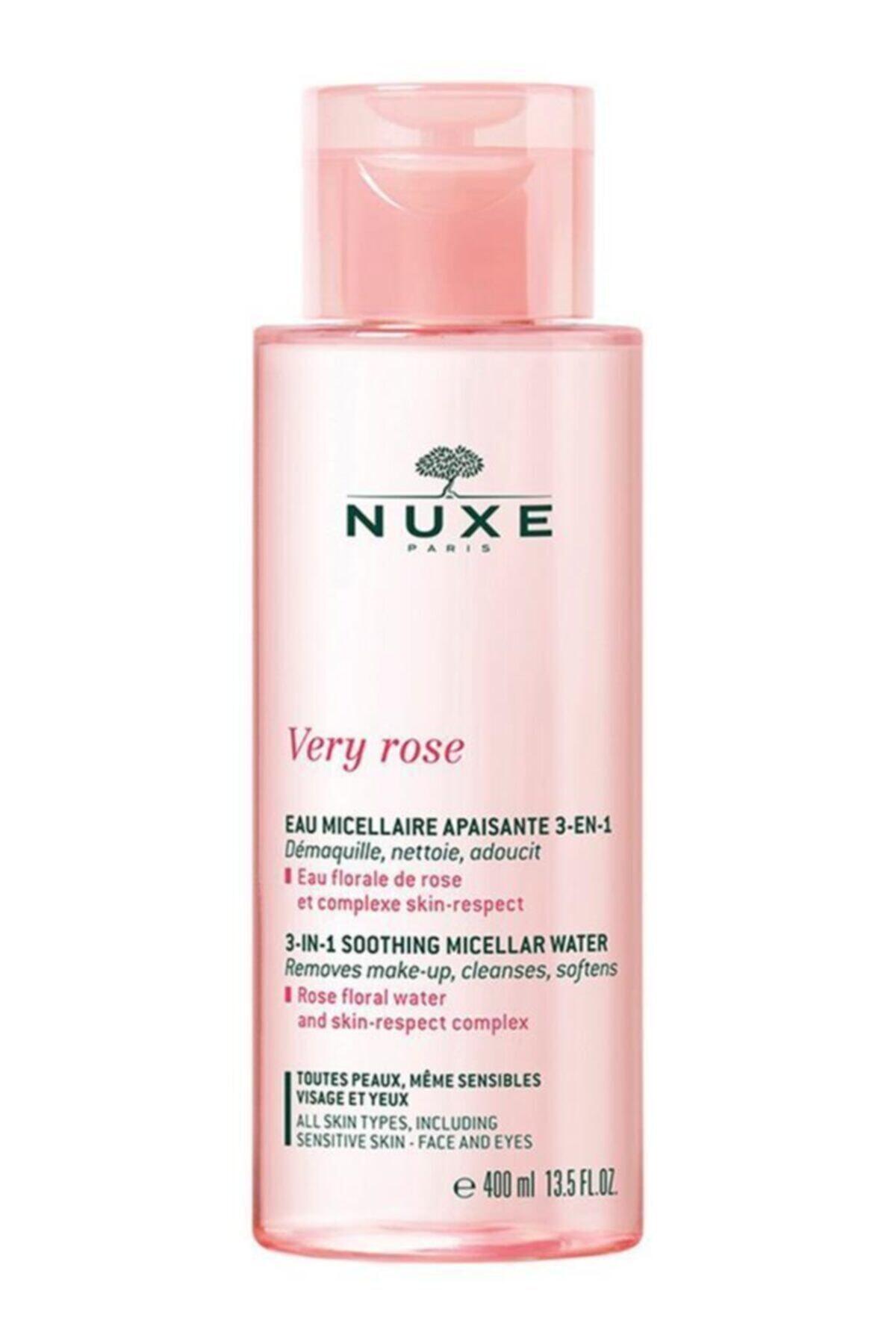 Nuxe Very Rose 3 In 1 Temizleme Suyu 400 ml 1