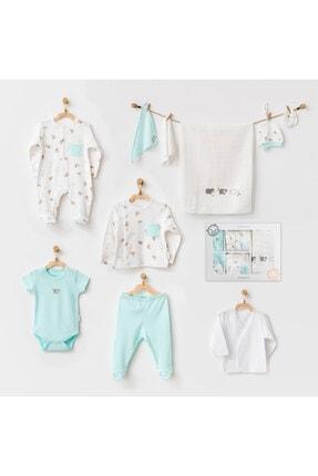 andywawa Bebek Hastane Çıkışı 10 Pcs Newborn Set Hıppo