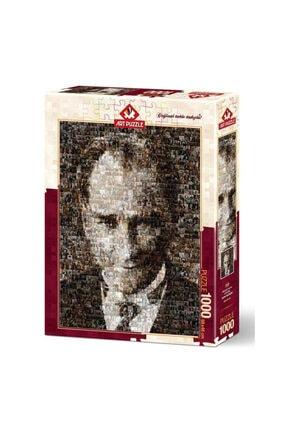 Art Puzzle Mustafa Kemal Atatürk 1000 Parça  Puzzle