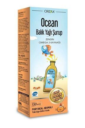 Orzax Omega 3 Portakal Aromalı Balık Yağı 150 ml