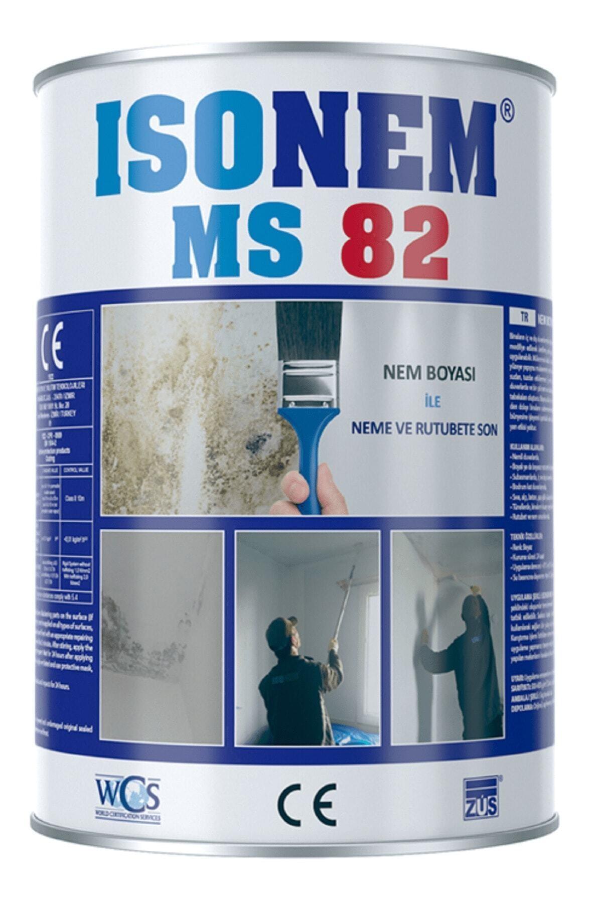 Isonem Beyaz Ms82 Nem Ve Rutubet Boyası 1 kg 1