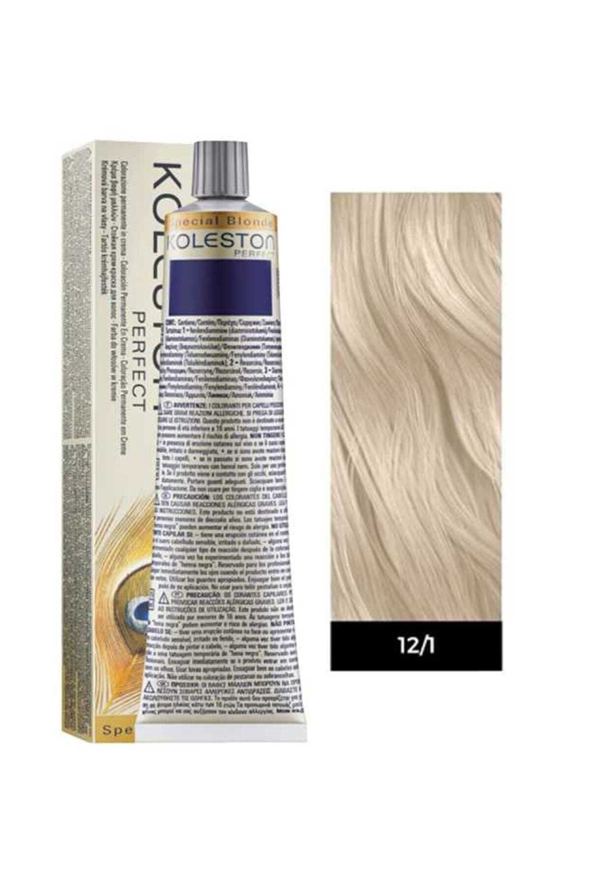 Wella Koleston Perfect 12,1 Ekstra Küllü Platin 1