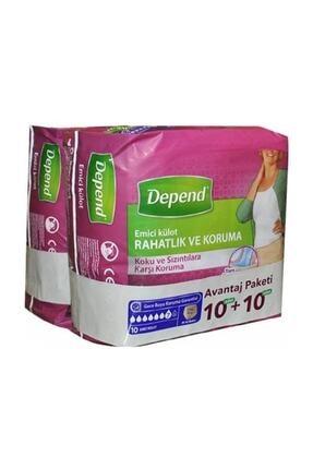 Depend Emici Külot Kadın Orta 10+10 Avantaj Paket