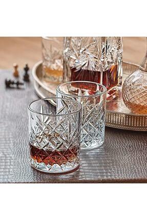 Paşabahçe 52810 Timeless 4 Lü Viski Bardak - Viski Meşrubat Bardağı