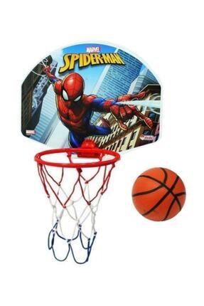 DEDE Mavi Spiderman Orta Boy Basketbol Potası 01522